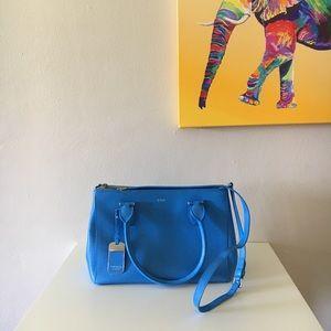 Lauren Ralph Lauren structured leather satchel